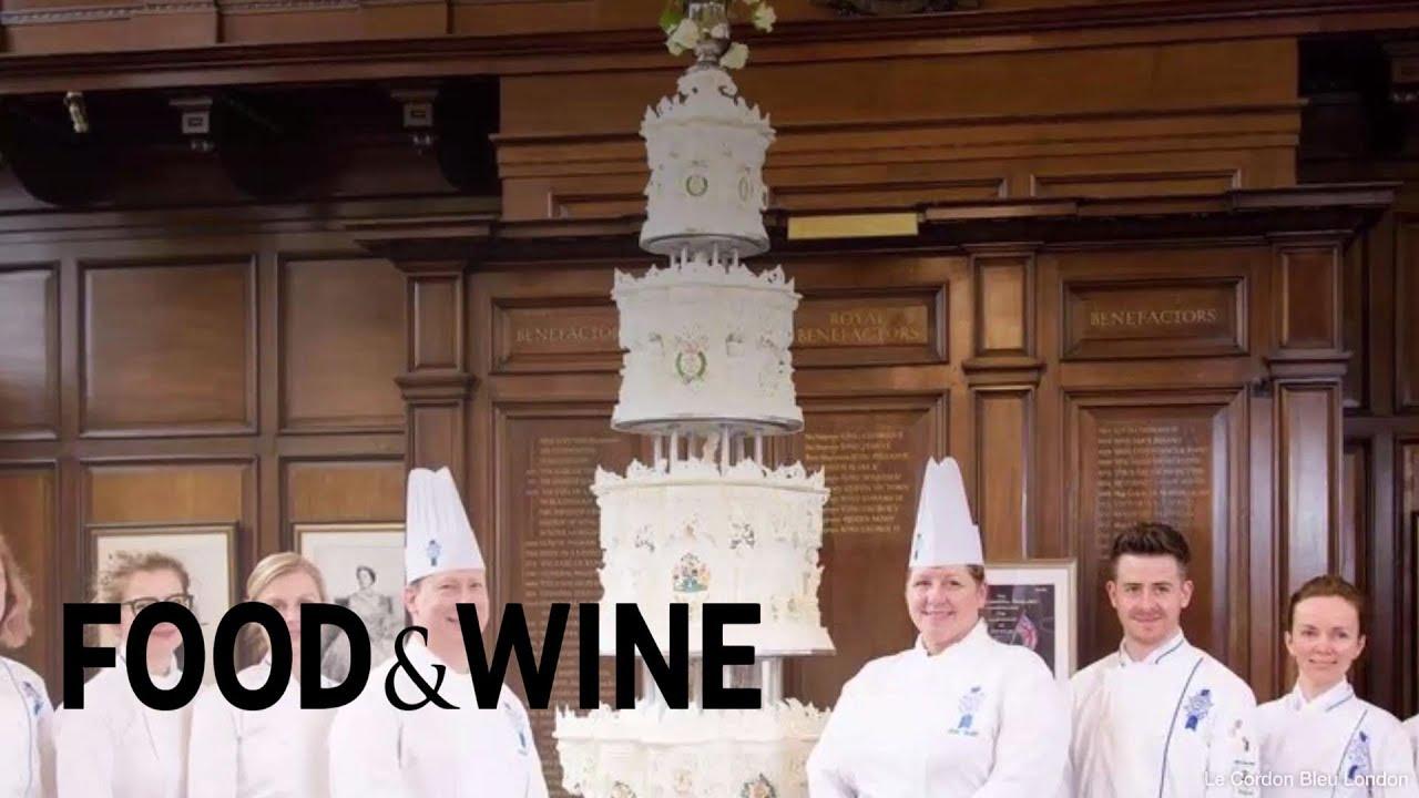 Le Cordon Bleu London Recreated Queen Elizabeth's Wedding Cake | Food & Wine