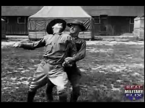 U.S. Army's Basic Hand To Hand Fighting of World War 1 (Silent film)