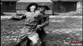 U.S. Army's Basic Hand To Hand Fighting of World War 1 (Silent film)