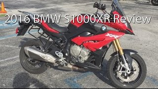 2016 BMW S1000XR Motorcycle Review