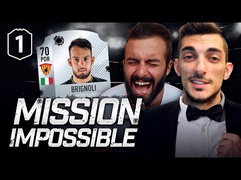 [NUOVA SERIE] MISSION IMPOSSIBLE FIFA | EP. #1 w/S7ormy