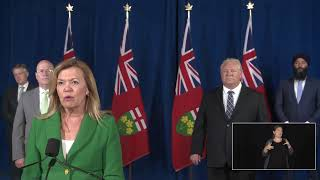 Premier Ford provides a COVID-19 update | July 8