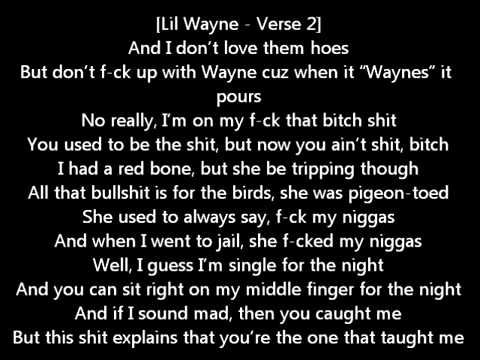 Lil Wayne   How To Hate Feat  T Pain LYRICS Tha Carter IV New Album Free Download