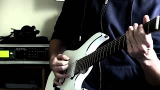 piornos guitars cg7 custom - delyrim -where hearts roam to rot