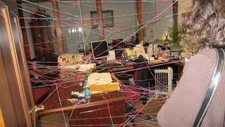 Office Prank - Surprise - Spiderweb