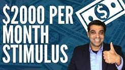Tell the White House You Want $2000 per Month Stimulus Check (Emergency Money for the People Act)