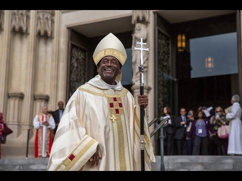 Episcopal Church installs first African-American leader