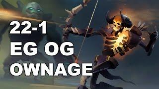EG vs OG Biggest OWNAGE #Rekt! 1-22 22:22 MDL Dota 2