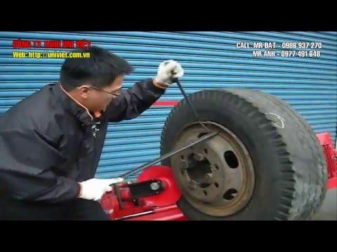 Huong dan lam lop xe tai co sam/ Hướng dẫn làm lốp xe tải có săm/ máy ra vỏ xe tải