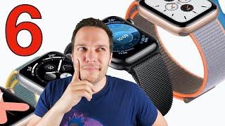 Attendre l'APPLE WATCH 6 ou ACHETER une Apple Watch Series 5, 4 ou 3 ?