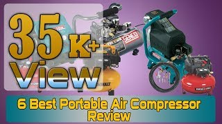 6 best portable air compressor review that most cheap air compressors