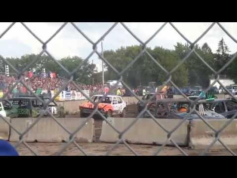 Benton County Demo Derby 2015 Part 1