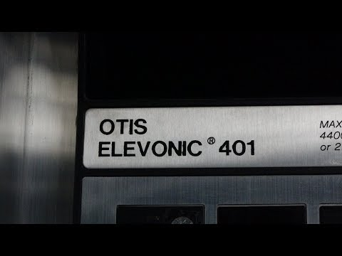 Amazing Otis Elevonic 401 High-Speed Elevators at Tianjin Ra