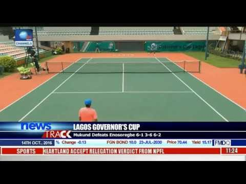 All Nigerian Players Crash Out Of Lagos Governor's Tennis Cup