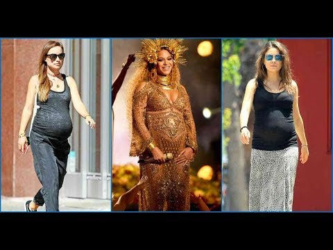 12 Famous Female Celebrities Rocked Their Baby Bumps