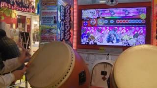 太鼓の達人 イエローver. 千本桜(裏) 全良 みくぴ 検索動画 23