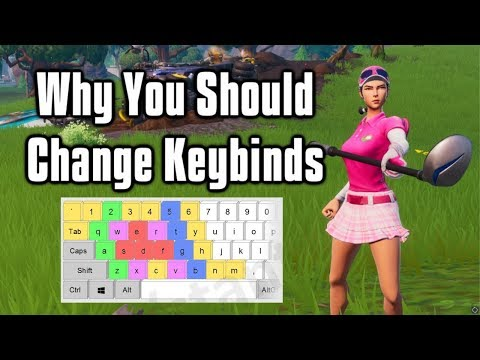 Why You Should Change Your Keybinds & Why I Changed Mine! - Fortnite Battle Royale