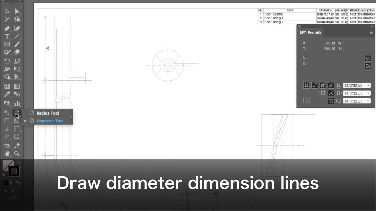 CAD-COMPO4 - Illustrator CAD + DXF Plugins
