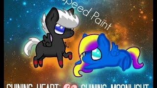 Speed Paint - Shining Shadow y Shining Moonlight