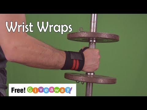 Wrist wraps for gym Giveaway! WinWristWraps.info