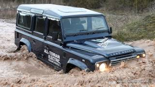 Land Rover Defender Electric Concept 2013 Videos