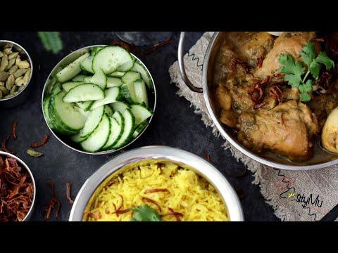chicken-kalia-with-turmeric-rice-&-mango-lassi-|-kalia-poulet-avec-riz-saffran-et-lassi-de-mangue