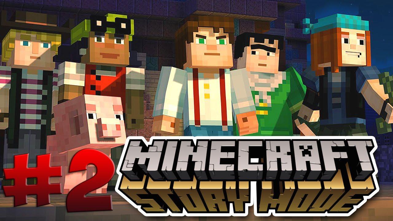 Взломанная версия для Minecraft Story Mode на Андроид!