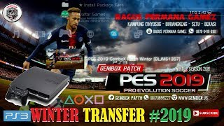 Pes 2019 PS3 GemboX Patch Winter Transfer 18-19