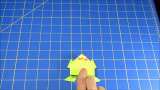 Light Up Jumping Origami Frog How-To