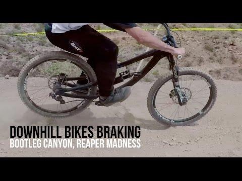 Downhill Bikes Braking