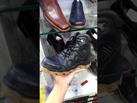 Sepatu boots safety hand made bandung
