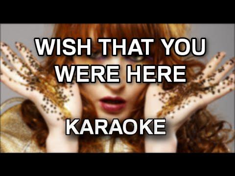 Florence + The Machine - Wish that you were here [karaoke/instrumental] - Polinstrumentalista