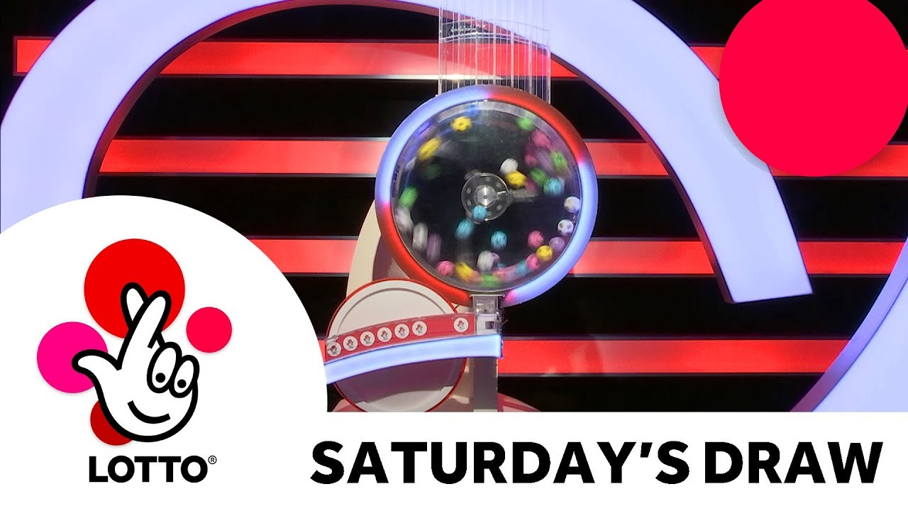 The National Lottery 'Lotto' draw from Saturday 18th