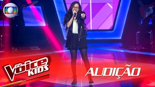 "Marcella Bártholo canta ""I Put a Spell On You""  na Audição – The Voice Kids 