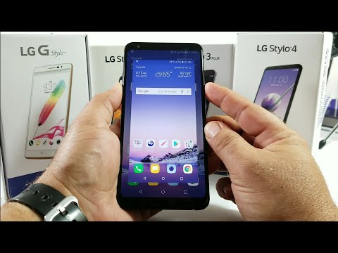 LG Stylo 4 how to screenshot 3 different ways.
