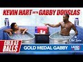 Kevin Hart and Gabby Douglas Flip Out! | Cold As Balls | Laugh Out Loud Network