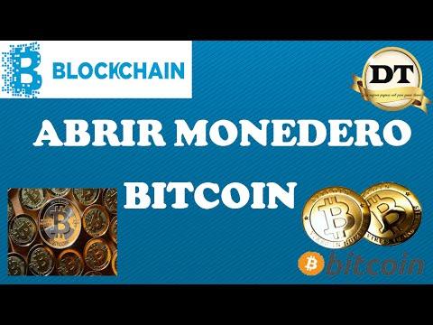 Tutorial completo en español blockchain 2016 - Abrir Monedero Bitcoin