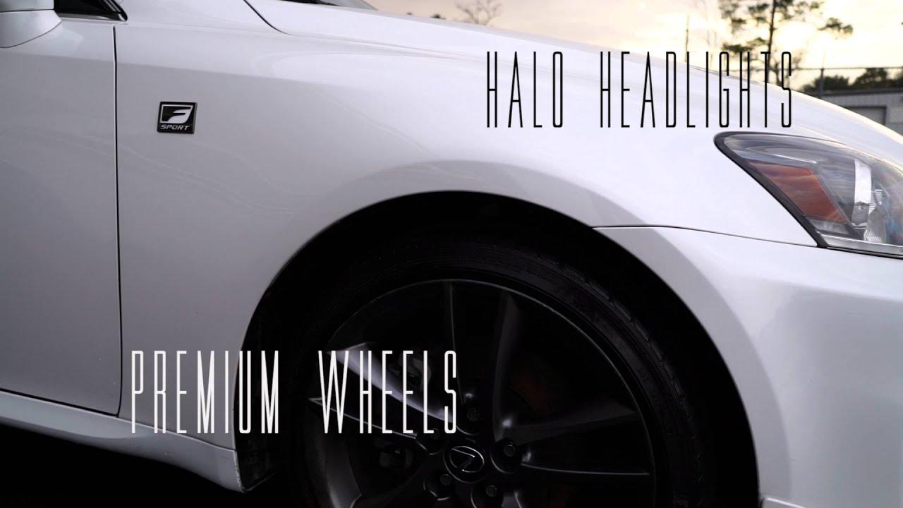 2009 Lexus IS 250 6 Speed Sequential White Houston Tx Stock