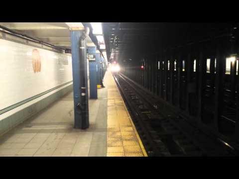 BMT Broadway Line: Queens & Brooklyn Bound R160 & R46 (N) (Q) (R) Trains @ 28th Street
