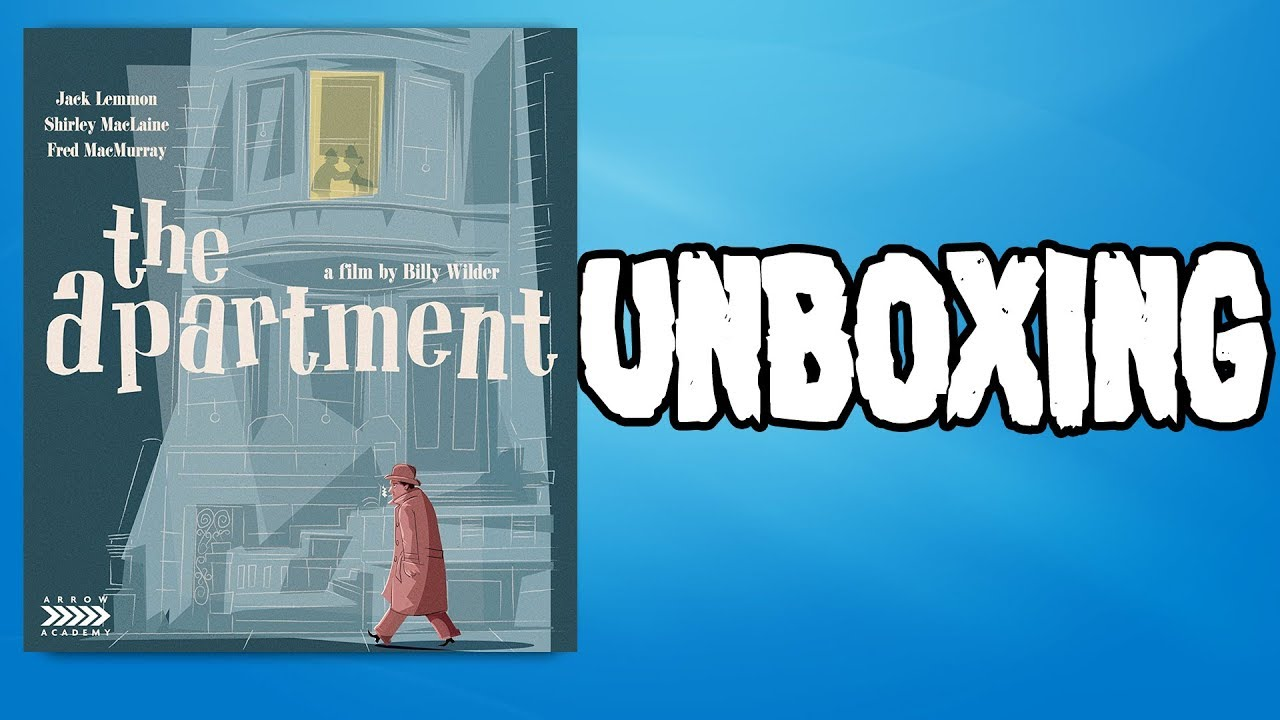 The Apartment Blu Ray Unboxing And Review From Arrow Academy