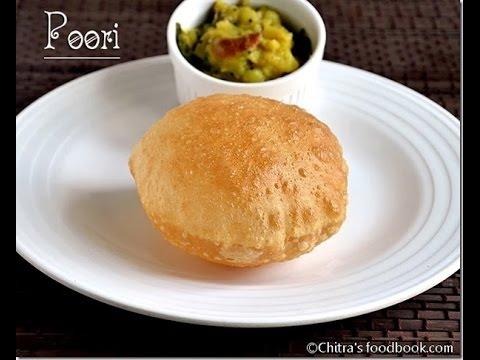 Poori Recipe-How to make Puffy & Soft Poori/Puri