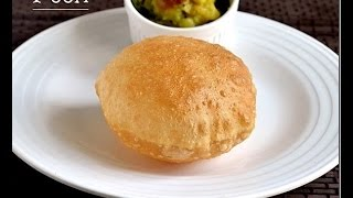 Poori Recipe-How to make Puffy & Soft Poori/Puri