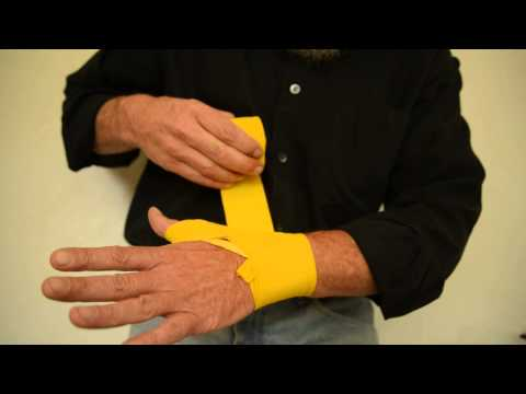 Handwrap Instruction for Boxing, Kickboxing or MMA with 180″ Hand Wraps
