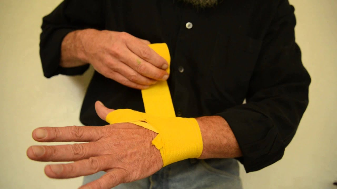 Hand Wrap Gloves Handwrap Instruction For Boxing Kickboxing Or Mma With 180 Hand