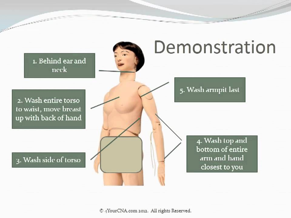 intro to give the resident a partial bed bath cna skill youtube rh youtube com Perineal Care to CNAs Teaching Peri Care Training