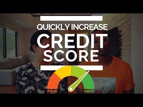 How to Quickly Increase Your Credit Score (Utilization Rate = 250 Points) #FICO #Credit