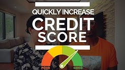 How to Quickly Increase Your Credit Score (Utilization Rate=250 Points) #FICO #Credit
