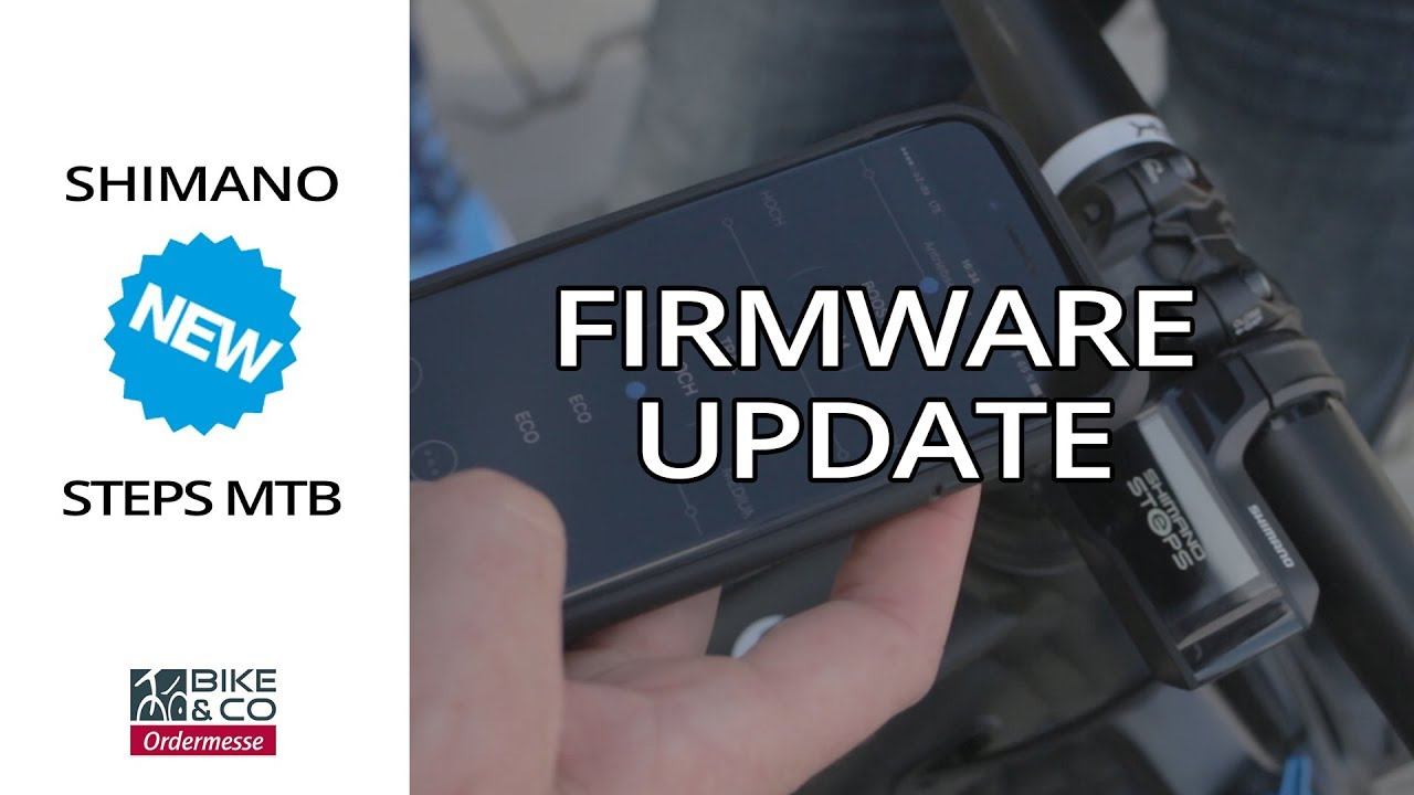 Shimano Steps eMTB Firmware Update | E-TUBE Project - iOS & Android App