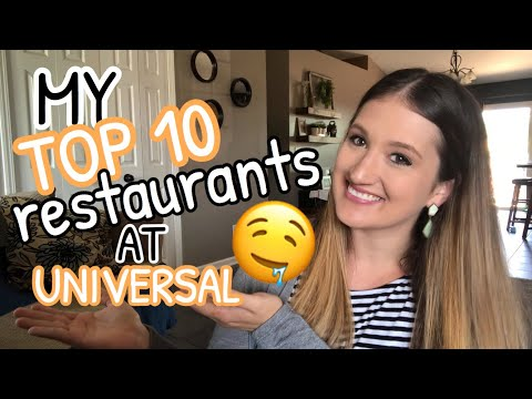 BEST PLACES TO EAT IN UNIVERSAL STUDIOS AND CITYWALK