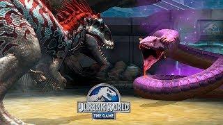 Индоминус против УРОБОРОС 66 14 уровень против Jurassic World The Game